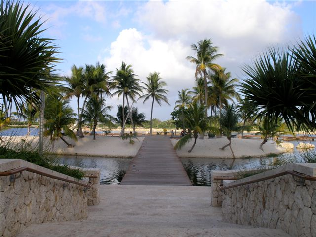 Entrance at Camana Bay