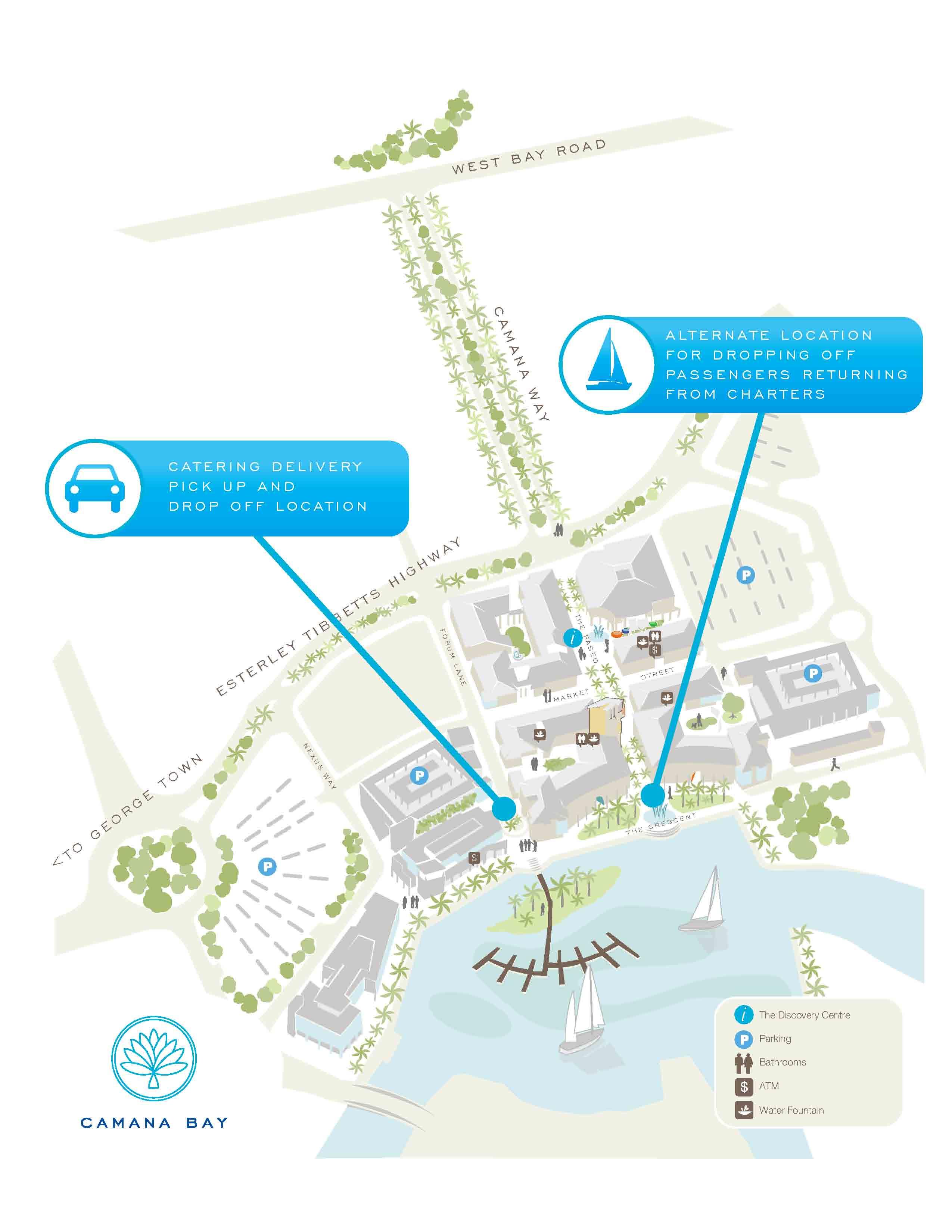 Dock Location | Cayman Luxury Charters on